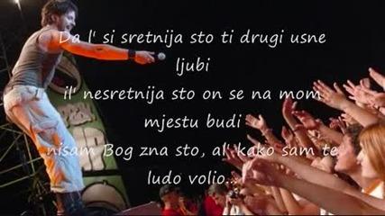 Tose Proeski - Da l Si Sretnija (lyric)