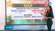 Прогноза за времето (28.04.2021 - централна емисия)