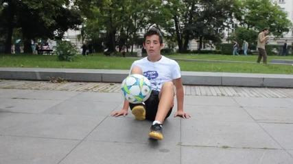 Урок за напреднали - Freestyle Football от Енис Тодоров