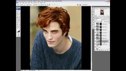 Robert Pattinson As Edward Cullen In Ps