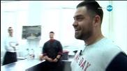 Шеф Шишков провежда кулинарен изпит в Черешката на тортата (18.02.2016)