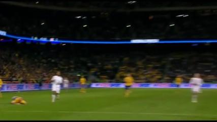 Zlatan Ibrahimovics Wonder Goal Vs England Home Hd 720p - English Commentary