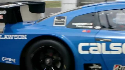 Calsonic Impul Gt - R - high speed cornering