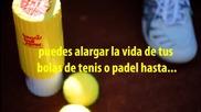 Tennis Ball Saver - El Secreto del Ahorro en pelotas de Tenis y Padel