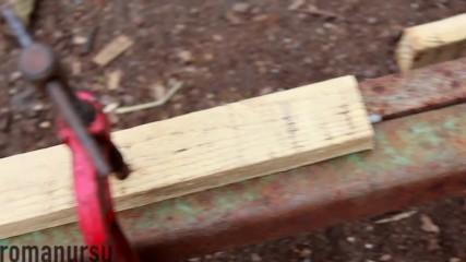 Страхотна идея как да си направите една заварка за начинаещи, даже без да използвате ръцете си!