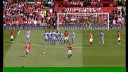 Ronaldo 1:0 - Man Utd v Man City.avi