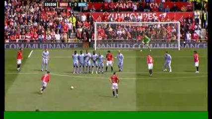 Ronaldo 1:0 - Man Utd v Man City.avi