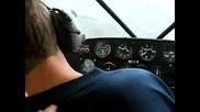 Пилот на самолет си прави много кофти шега с пътниците