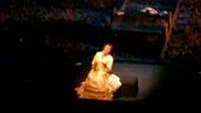 Веселина Кацарова и Хосе Кура във фрагмент от 2-ро д. на операта Самсон и Далила от Камий Сен- Санс