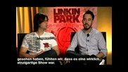 Interview with Mike & Rob on MTV Germany