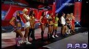 Ей Джей срещу Наоми за титлата на дивите. Шампионката бива наказана - Първична Сила 24/3/14