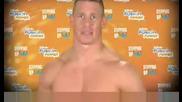 Реклама с John Cena от Gillete Бъди суперзвезда!