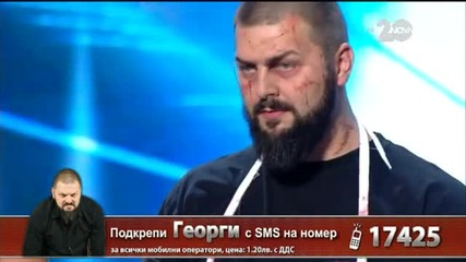 Георги Бенчев - X Factor Live (28.10.2014)