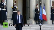 France: Sarkozy calls for West-Russia coalition in Syria after meeting Hollande