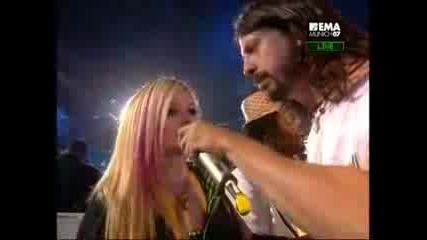Avril Lavigne - Ema Mtv Vip