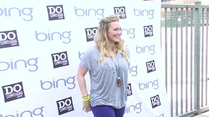 Hilary Duff Admits to Being a