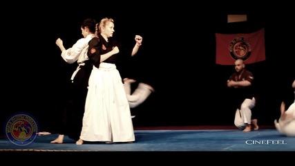Демонстрация Jiu Jitsu