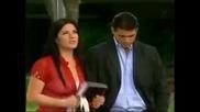 Camila ve a Cristobal con Jazmin