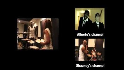 Бийтбоксер vs барабанистка