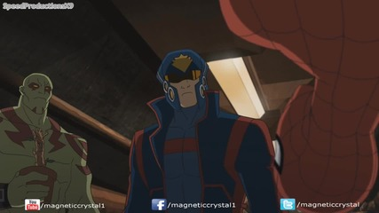 Ultimate Spiderman S2e17 Guardians of the Galaxy