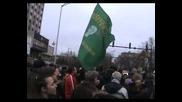 Протест срещу високите сметки за ток - Варна - 10.02.2013 година - 01