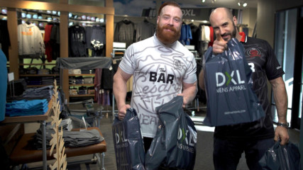 The Bar go on a shopping spree at DXL