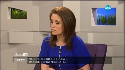 Йотова: БСП не би избрала Станишев отново за свой лидер