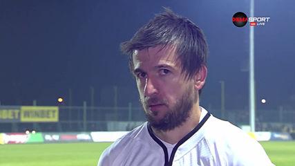 Дарко Тасевски: Съдията леко побутна Ботев