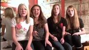 4 млади момичета пеят песен на Ета Джеймс (somethings Got a Hold on Me)