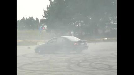 Bmw E39 530d Burnout!