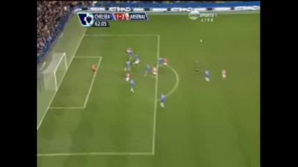 High Chelsea Vs Arsenal Van Persie 1 - 2