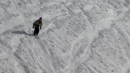 Екстремни спускания (Ski freeride tour) част 1