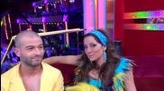 Dancing Stars - Сани и Симеон за салсата и стратегиите (15.04.2014г.)