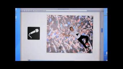 Супер видеото на 3oh!3 - Double Vision ( високо качество ) + Lyrics + Download Link