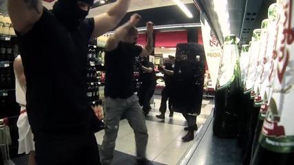 Екшън в супермаркет в Драгалевци