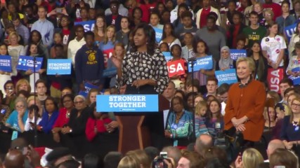 USA: Trump wants 'dirty' election – Michelle Obama at Clinton rally