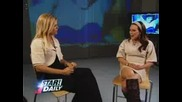 Hilary Duff On Star Daily - April 25 2007