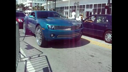 Chevy Camaro on 28 inch Dub Jokers