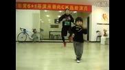 Хлапе и неговите хип - хоп танци