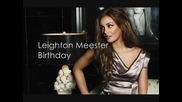 Leighton Meester feat. Awesome New Republic - Birthday