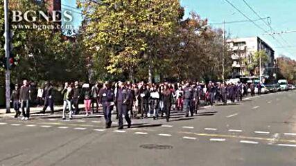 Отново протест срещу зеления сертификат в Бургас