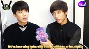 130816 B.a.p Partner Interview Daehyun and Youngjae