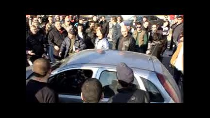 Национален протест за цените на горивата 13 03 11 Варна.