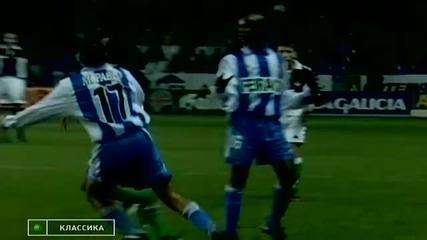 Най-добрите футболни финтове и голове за 2011