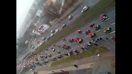 Santa Claus Motorcycle Parade 2009 Part 2