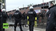 Germany: Antifa protesters clash with police at HoGeSa counter-demo