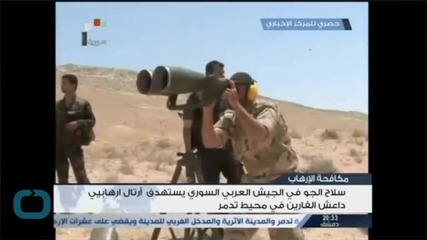 Islamic State Seizes Parts of Syria's Palmyra City: Monitor