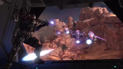 Halo Reach the fall of reach trailer
