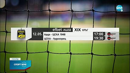 Спортни новини (12.05.2021 - обедна емисия)