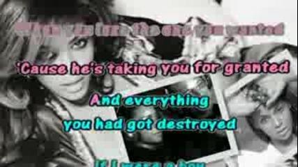 Beyonce - If I Were A Boy [karaoke Instrumental]